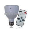 LED bulb emergency rechageable 5W, with remote control