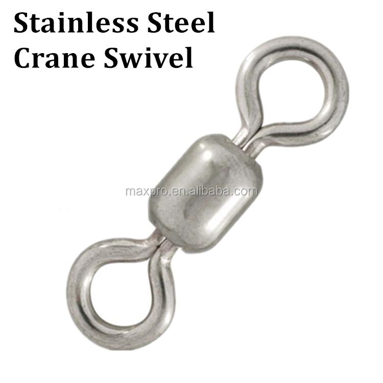 10 HI SEAS STAINLESS STEEL CRANE SWIVEL SZ 6//0 BIG GAME FISHING TACKLE SWIVELS