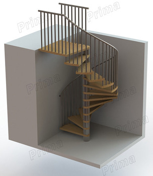 Staircase Design Calculation / Small Spiral Staircase / Stainless Steel  Stair Parts