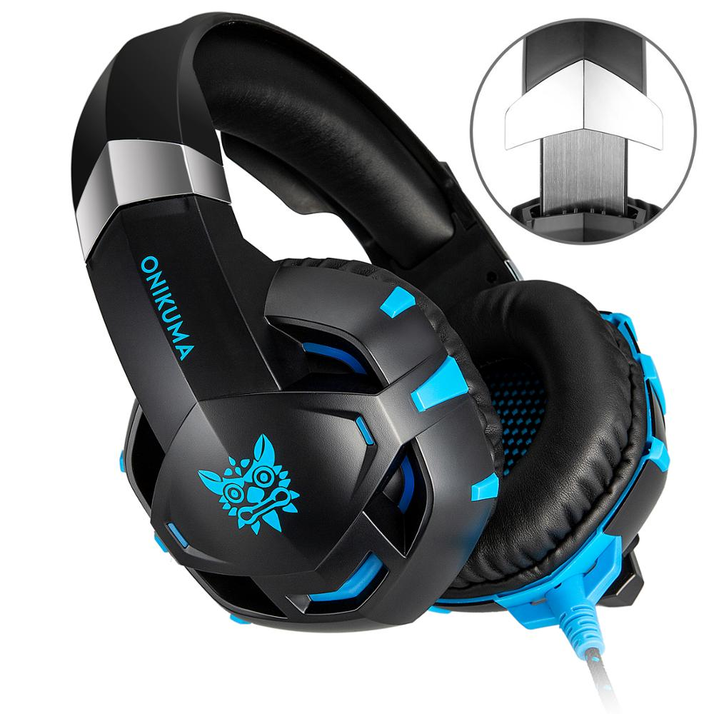 Gaming Headset for PS4, Xbox One, PC, Nitendo Switch, Over Ear Headphones with Mic Noise Reduction
