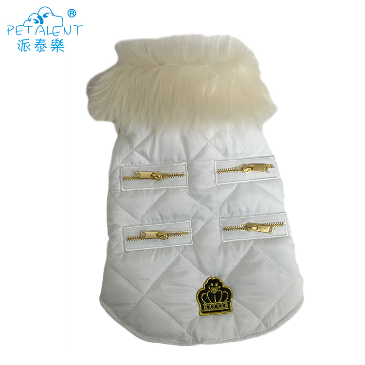 New Design Warm Winter dog clothes hoodie coat for pet