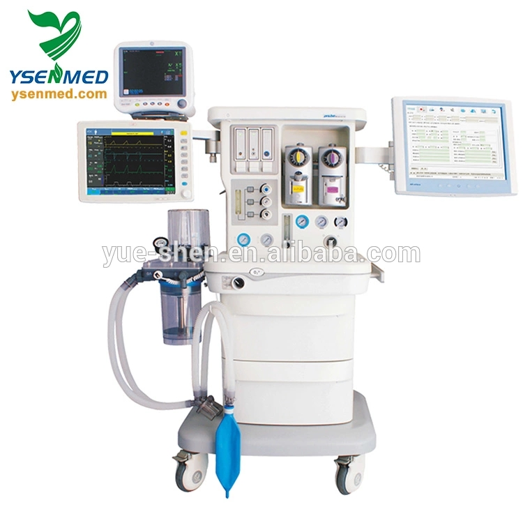 Ysav700 Advanced Management Control 15 Inch Touch Screen Multi-function Icu  Surgical Anesthesia Machine /unit With Ventilator - Buy Anesthesiology