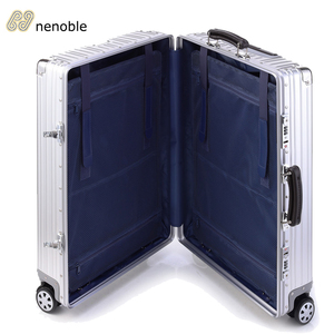 Top quality aluminium travel luggage with spineer wheels for travelling
