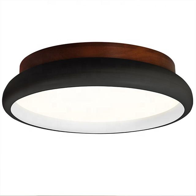 Современный потолочный светильник для отелей, комнатный потолочный светильник для гостиной, декоративный деревянный светодиодный плафон, потолочный светильник