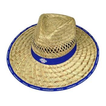 44683c2385bdc Mens Summer Straw Panama Hats With Logo