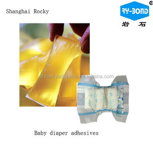 Hot Melt Pressure Sensitive Adhesives HM PSA for Hygiene Baby Diapers and Female Sanitary Napkin