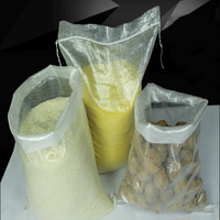 Good quality polypropylene woven treated empty grain bags