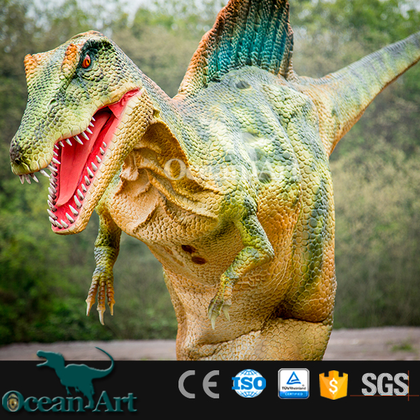 BY-DY-042009 Robot Walking Spinosaurus Dinosaur Costume For Sale