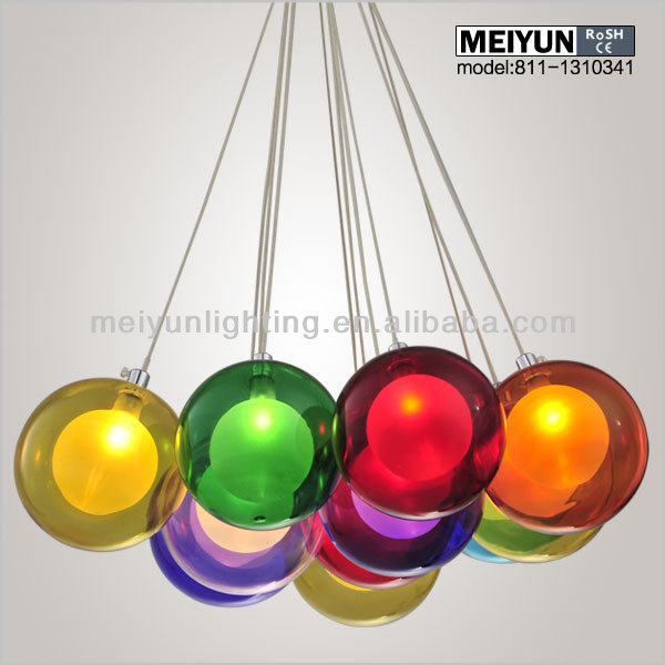 colored pendant lighting. multicolor glass pendant light buy lightglass ball lights product on alibabacom colored lighting d