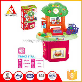 funny toys kids play checkstand toys supermarket play toys