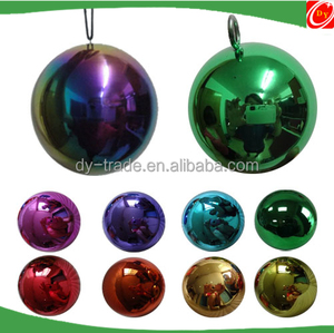 Hanging Stainless Steel Metal Christmas Ball/Halloween Decoration Ornament Multicolored Ball