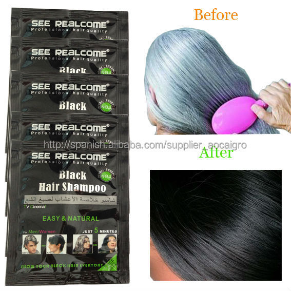 Natural Hair Dye For Gray Black Hair Shampoo