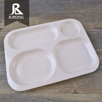 Factory Direct Whole Melamine Divided Plates For S