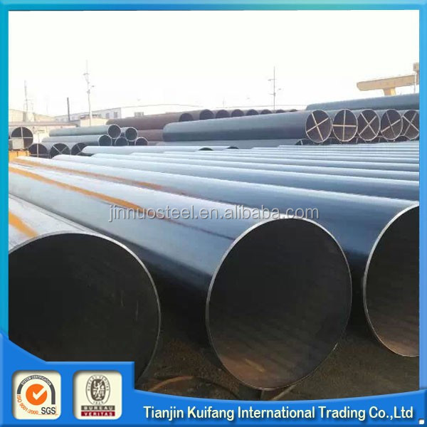 Carbon steel ERW Pipe mild black stee Tube weight