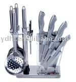 10 pcs kitchen knives set