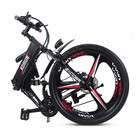48V 400W Peak Intergrated Wheel Mountain Ebike Foldable With Hidden Lithium Battery