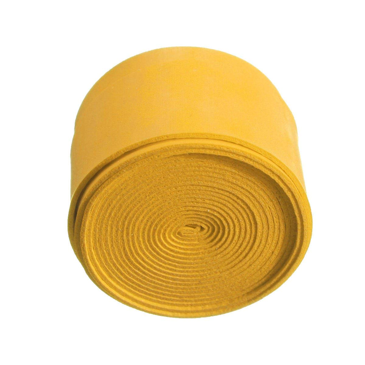 25×1100×0.75mm Anti Slip Tennis Racket Grip Tapes Badminton Racket Squash Tape - Tapes, Adhesives & Sealants Adhesive Tapes - (Yellow) - 2 X Badminton/Tennis Grip