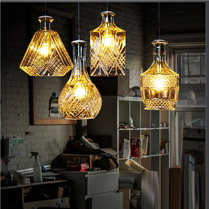 new arrival clear glass shades antique glass hanging lamp pendant light fixture glass lampshade cover
