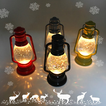 Led Light Up Christmas Mini Lantern Ornaments Lights