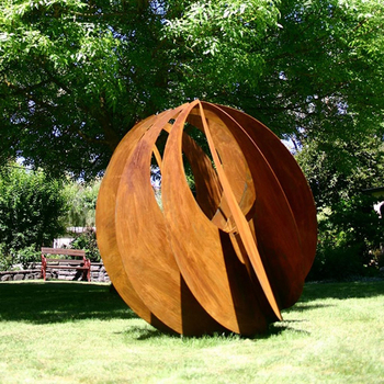 Diseno Popular Jardin Acero Corten Escultura Buy Jardin De Acero - Escultura-jardin