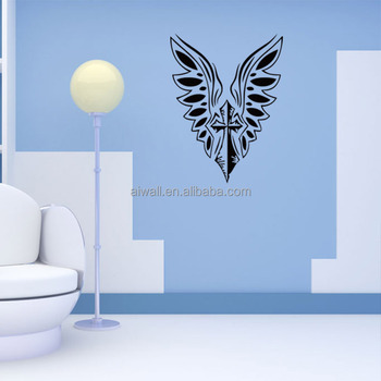 4124 christian jesus cross wall decals christian stickers home wall