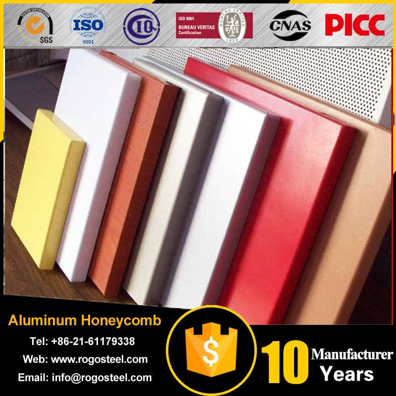 Foil length 0.4mm-20mm aluminium honeycomb composite panel China Factory