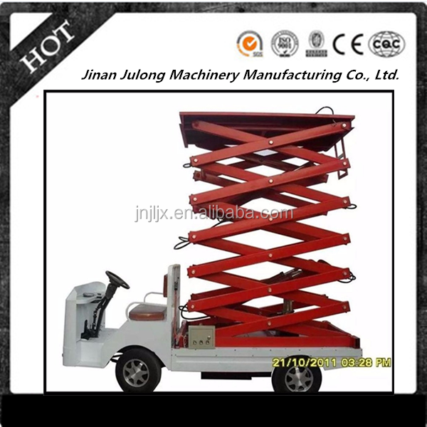 China lift manufacturer vehicle-mounted hydraulic scissor electric platform lifts