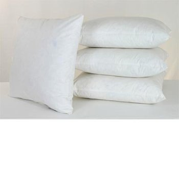 wholesale cheap 18x18 feather down pillow inserts buy pillow wholesale feather down pillow. Black Bedroom Furniture Sets. Home Design Ideas