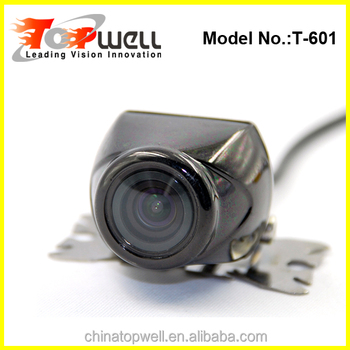 Shenzhen very very small universal rear view camera with mirror image swith fuction optional