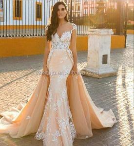 ac77a91eee71 Detachable Neck Wedding Dress Wholesale, Wedding Dress Suppliers - Alibaba