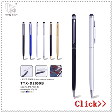 Popular style Hot sell 2017 promotional new products metal touch pen