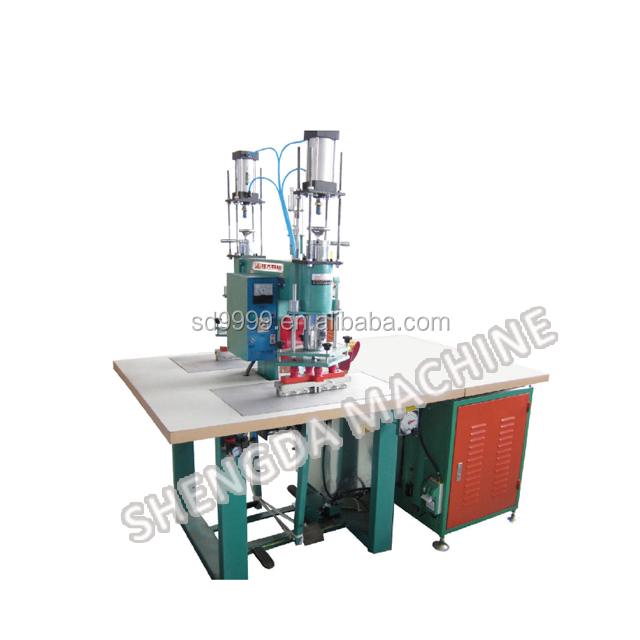 SD-115KW Double Stations Pneumatic Foot Press High Frequency pvc welding Machine