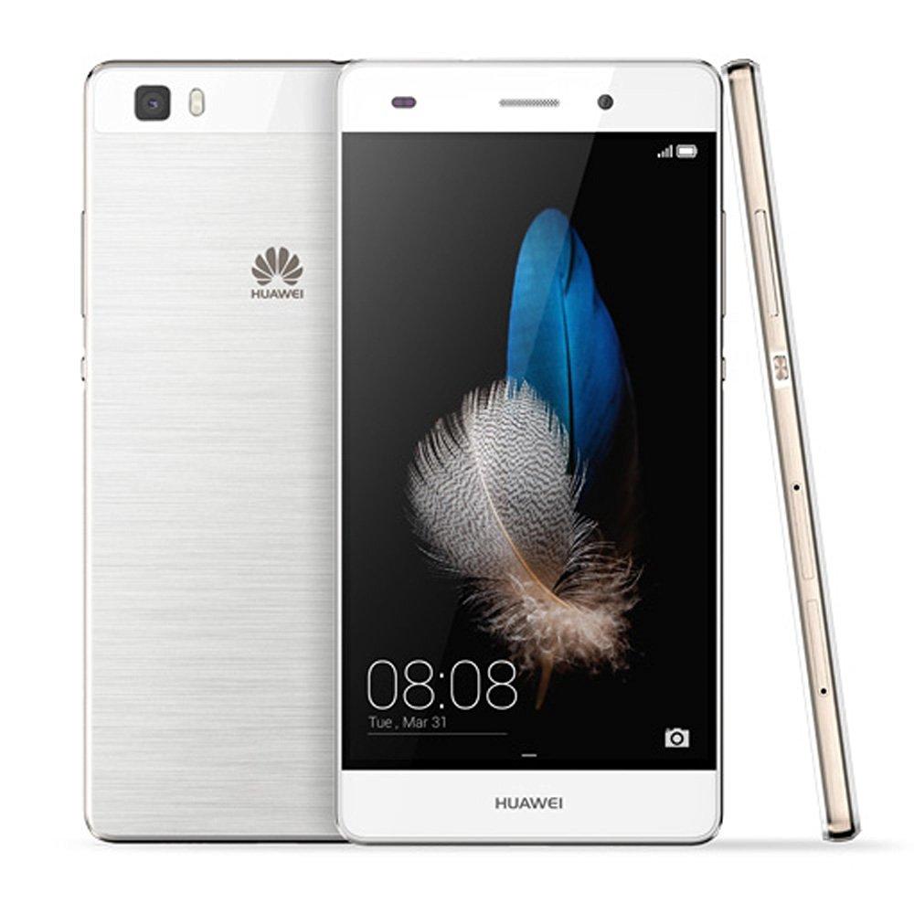 Huawei P8 Lite Unlocked Smartphone Android 5.0 Octa Core 1.2GHz Dual SIM Dual Camera 2GB RAM 16GB ROM (White)