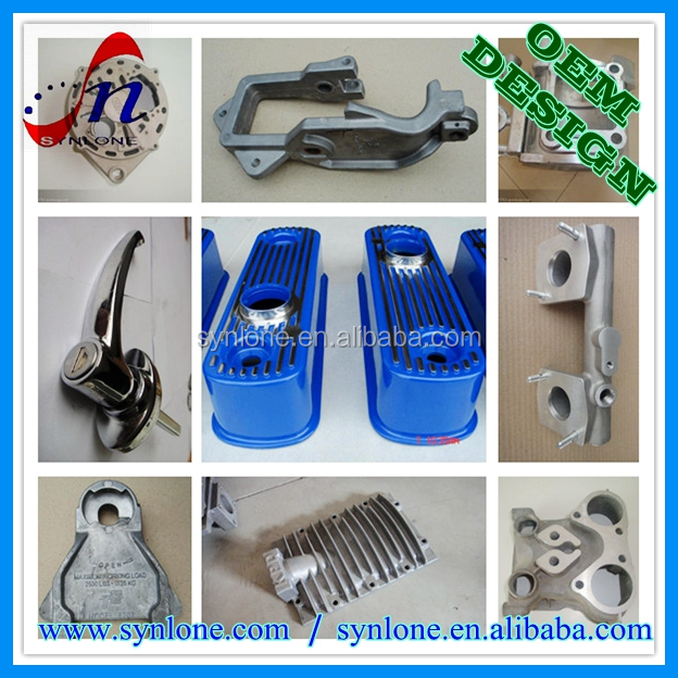 CNC customized drawing design Aluminium casting