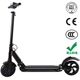 Cheap Foldable Lithium Battery 6.6AH 2 Wheel 8inch Electric Motorcycle From Manufacture