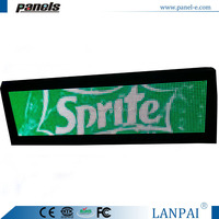 Indoor pitch 4 mm 32*128 dots led display for advertising video