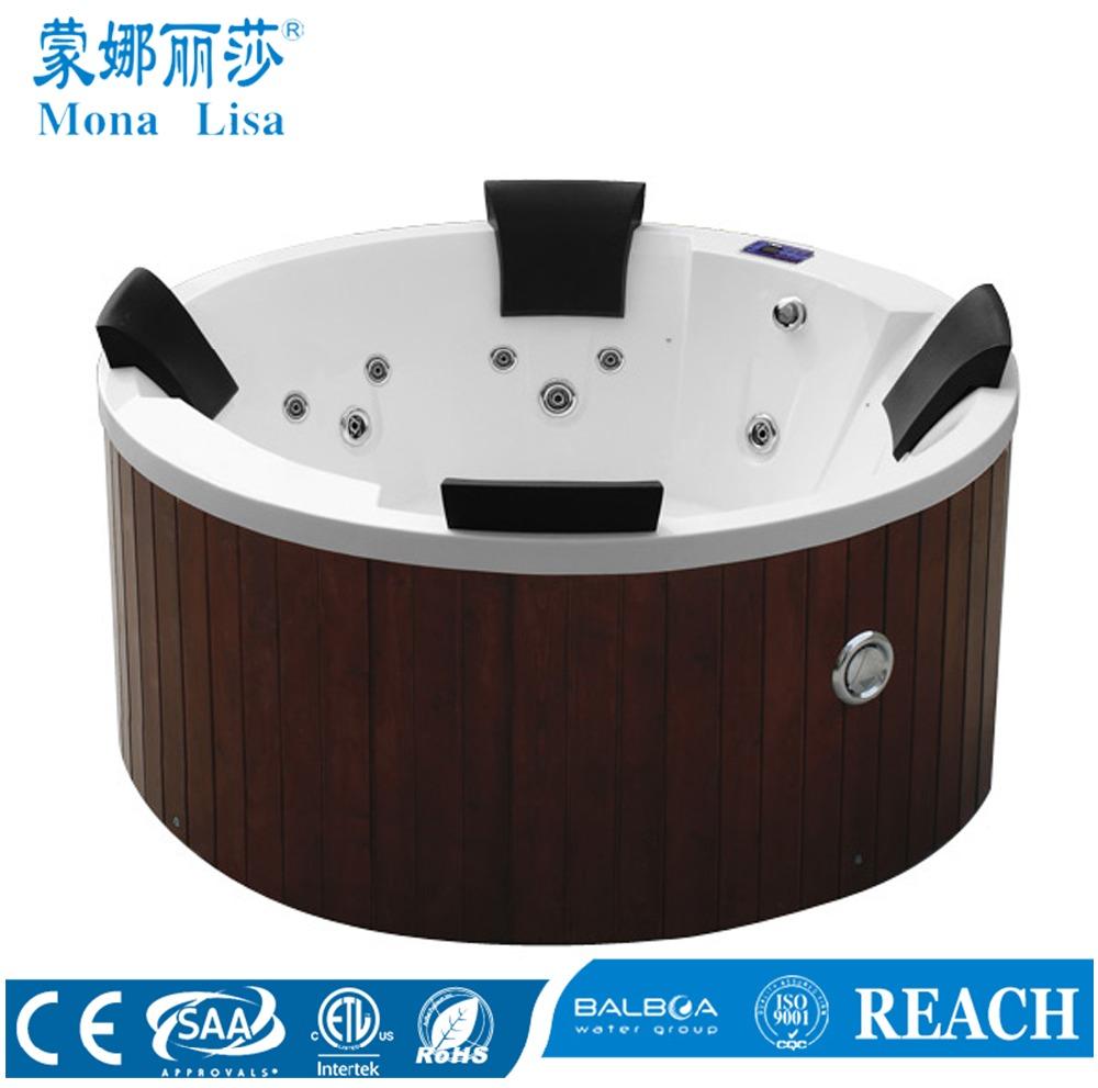 Guangzhou Monalisa Portable Whirlpool Bath With Bubble Bath - Buy ...