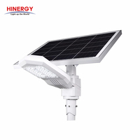Hinergy Wholesale Outdoor Waterproof IP65 Road Pole Lamp All In One Integrated LED Solar Street Light