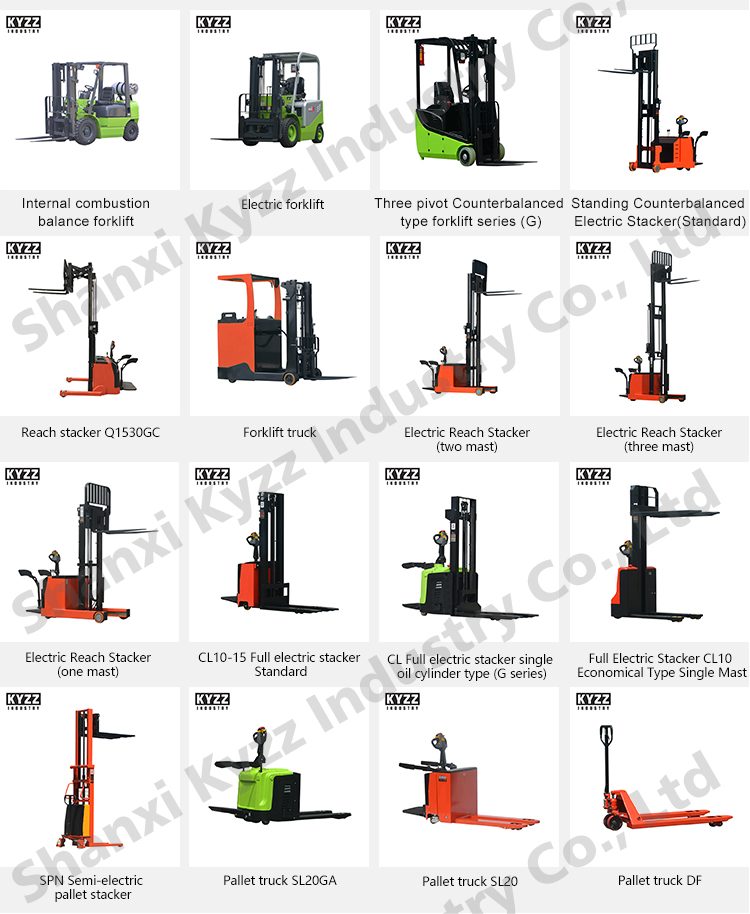 2 Ton Walk Behind Pallet Stacker Electric Forklift Price 1: One Mast High Quality Electric Reach Stacker With Good