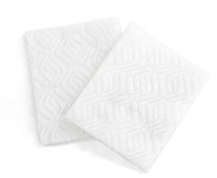 Household Nonwoven Disposable Cleaning Wipes Polyester Floor Cleaning Dry Wipes