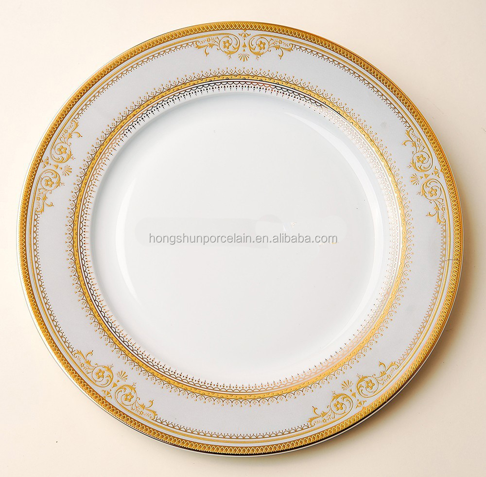 Wholesale white ceramic procelain restaurant dinner <strong>plates</strong>