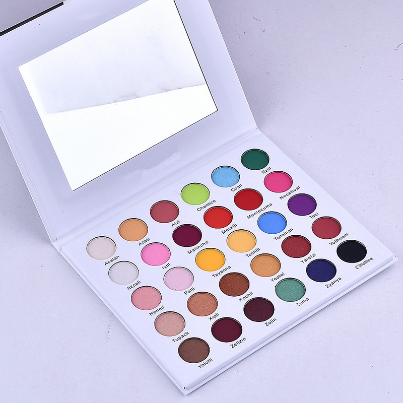 Alibaba.com / Private label Shimmer makeup shine eyeshadow 30 colors eyeshadow palette
