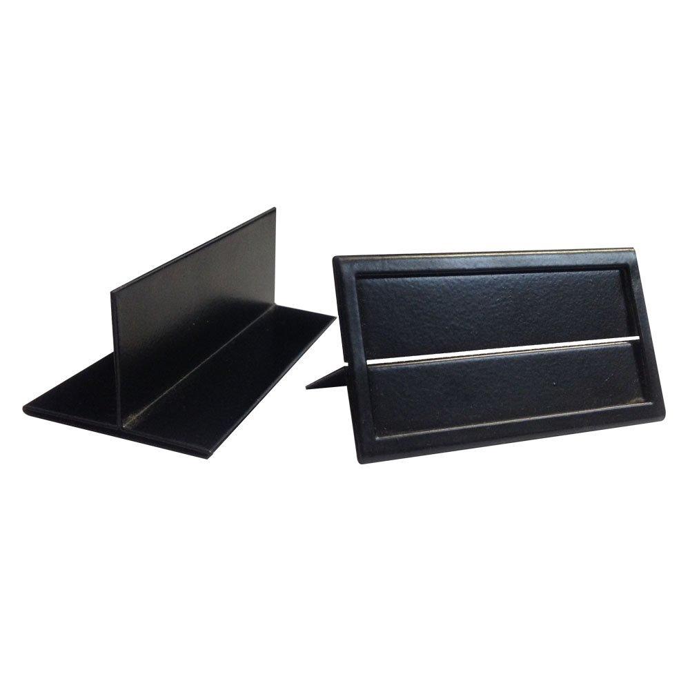 Fixture Displays Metal Shelf Edge Price Tag Holder, Ticket Holder Metal - 36PK 1459