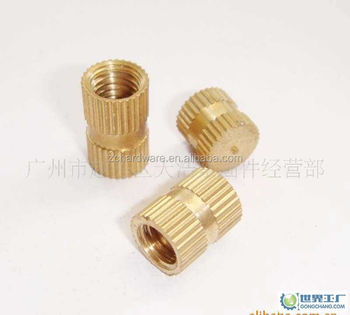 Brass Threaded Insert Nuts - Buy Brass Insert Nut,Brass Knurled  Insert,Blind Insert Nuts Product on Alibaba com