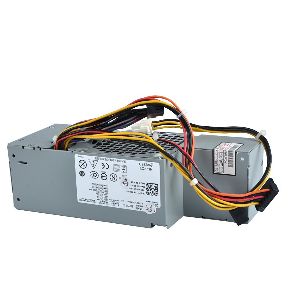 960 SFF Small Form Factor Systems Replaces Part Numbers: FR610 MPF5F 760 R224M GPGDV Replaces Model N R225M 780 WU136 6RG54 Genuine 275W Replacement Power Supply Unit Power Brick PSU For N6D7N G185T 67T67 RM112 H255T PW116 Dell Optiplex 380