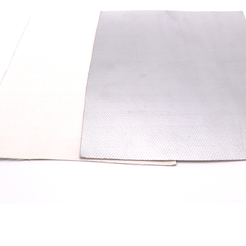 storage roof glass wool blanket with aluminum foil Aluminum foil faced silica fabric