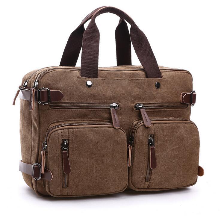 221252f4cd New men s handbags multi-function men crossbody bag men messenger bags  canvas shoulder bags(