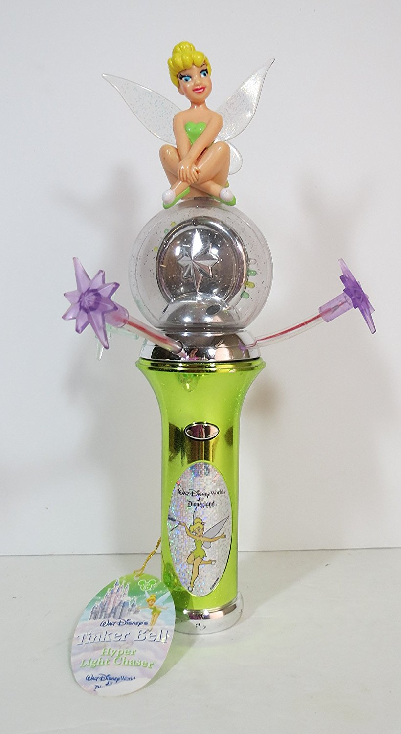 Cheap Tinkerbell Light Find Deals On Line At Valentine Led Chaser Get Quotations Disney Spinning Wand Fairies By Parks Rare