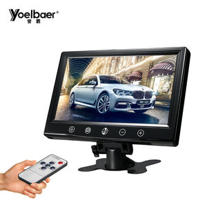 Cheap price car headrest monitor 9 inch DVD video player 9 inch monitor with touch button