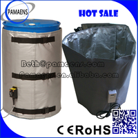 Water and Oil Proof Heated Drum Jackets Supplied by Factory Directly
